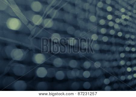 Vintage Background Of Bokeh With Abstract Background