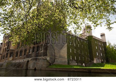 St John College. Cambridge. Uk.