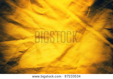 Yellow Textile Background Or Texture