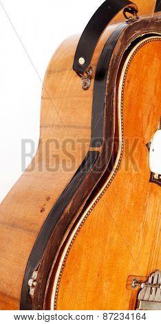 vintage guitar in a case
