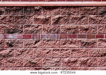Background of red wall pattern texture backdrop wallpaper