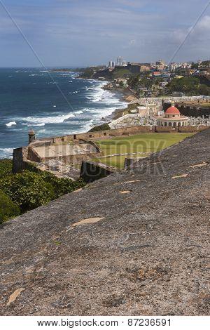 Coastline East Off Castillo San Felipe Del Morro.