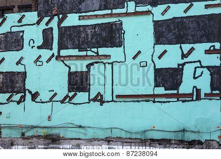 Construction Paint Background