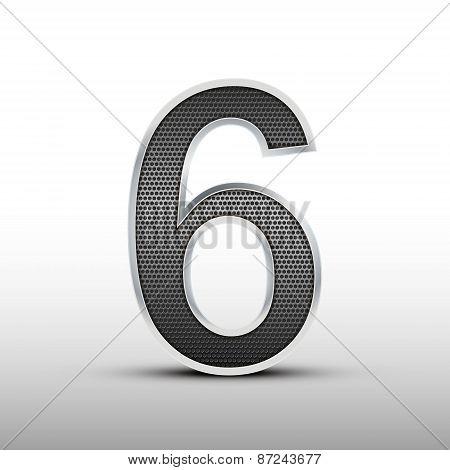 3D Speaker Grille Number 6