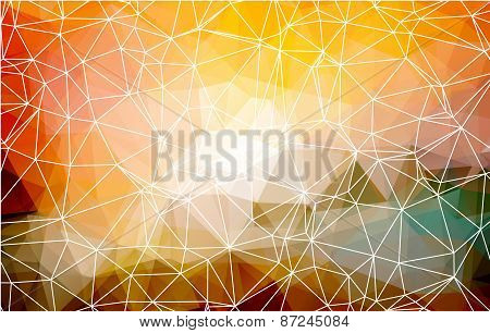 polygon background.vector illustrator abstract design.