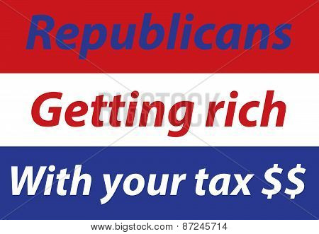 Republicans getting rich