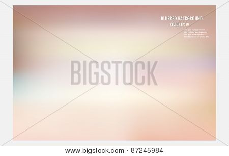 Colorful Blurred Background, Vector Illustrator Design Wallpaper,abstract Blur Backdrop.