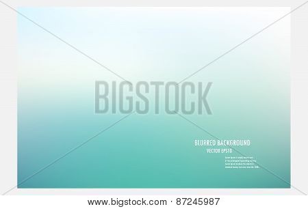 Blur Green Background,colorful Blurred Background, Vector Illustrator Desige Wallpaper,abstract Blur