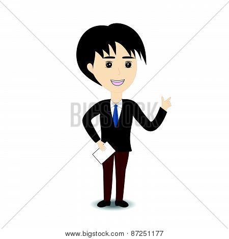 Business Man On White Background-01.eps