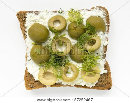 Olives Sandwich