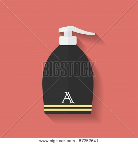 Icon Of Lotion. Flat Style
