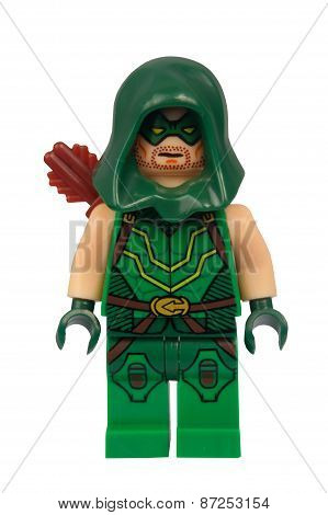 Green Arrow Custom Lego Minifigure
