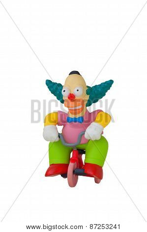 Krusty The Clown Figurine