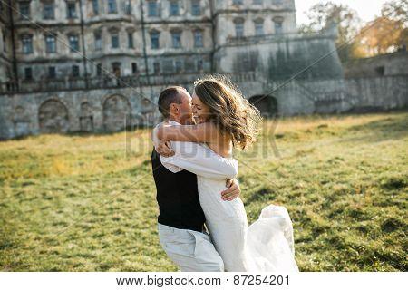 Beautiful Couple Having Fun