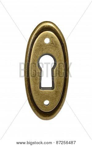 Oval Keyhole.