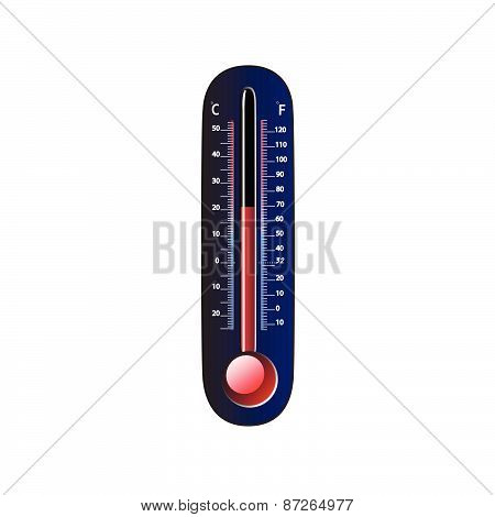 Thermometer and Global warming