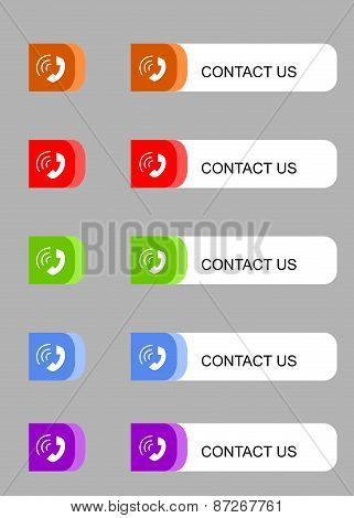 buttons contact
