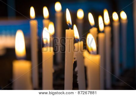 Candels In The Church