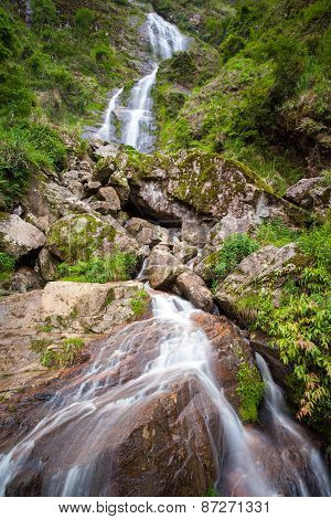 Silver Waterfall, Vietnam.