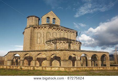 Romanesque Church Of Santa María De Eunate. Navarra, Spain