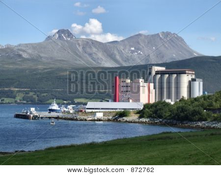 Industry In Mountains, Norway