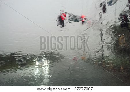 Rainy Windshield