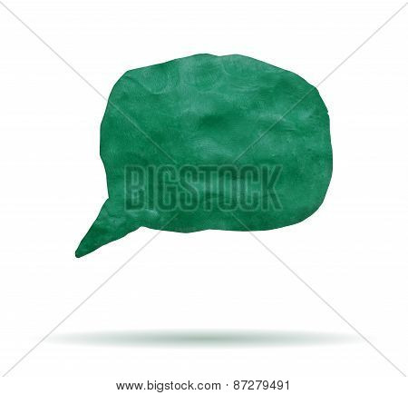 Green clay banner