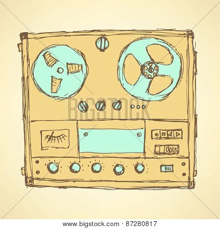 Sketch Analog Recorder