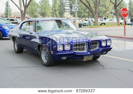 Pontiac Lemans  Classic Car On Display