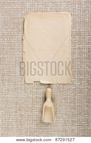 Dimensional Wooden Spoon