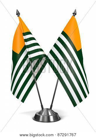 Azad Kashmir - Miniature Flags.
