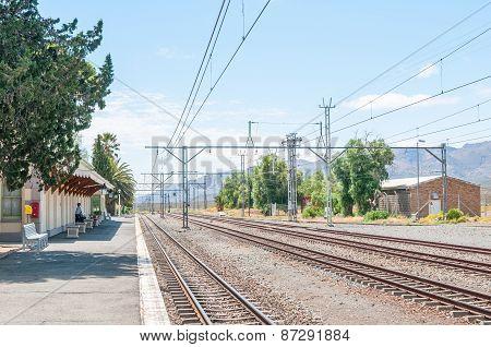 Historic Matjiesfontein Station