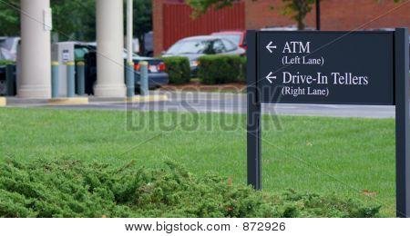 Banco en coche a través de