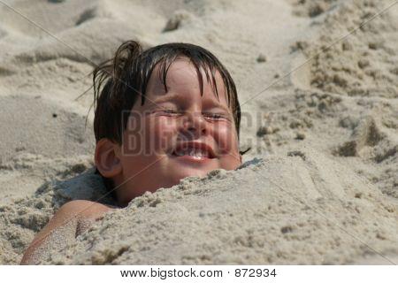 Head On The Sand