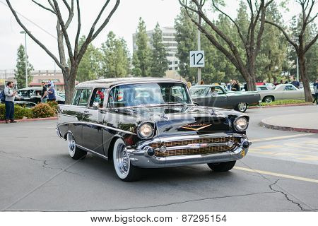 Chevrolet Bel Air Classic Car On Display