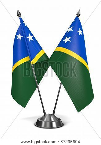 Solomon Islands - Miniature Flags.