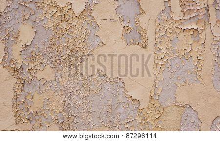 Peeling Paint At Wall