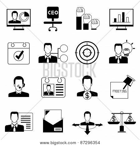 business and organization icons