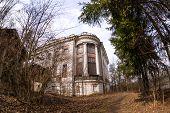 foto of manor  - The Demidovs Manor in Taitsy Leningrad region Russia - JPG