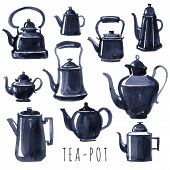 picture of pot  - Tea time - JPG