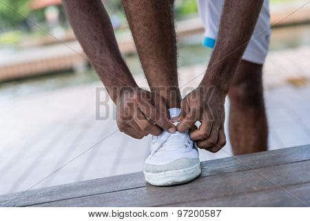 Tying Laces