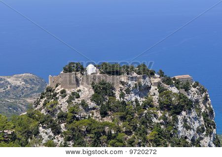 Stronghold Monolithos,island Rhodes,Greece
