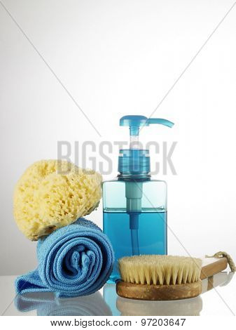 cleaning set for the bathroom