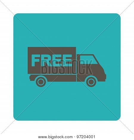Free Shipment Flat Icon