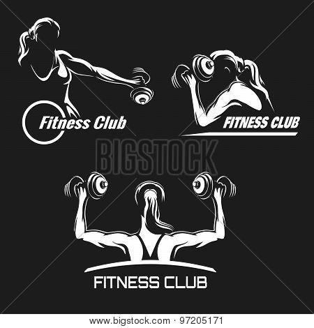 Fitness Emblem Set