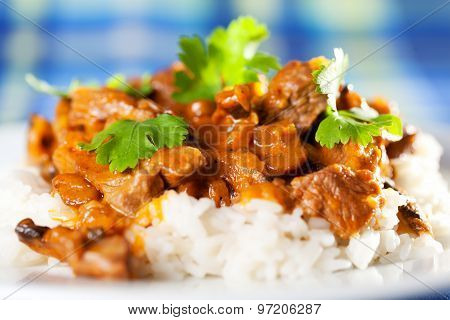 Pork Curry With Rice