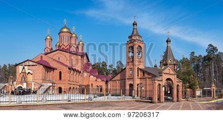 Peter and Paul Church and the Church of Holy Mother of God