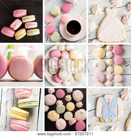 Sweet Food Photo Collage