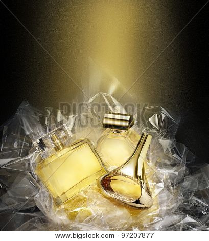 Fine Fragrances. In Christmas Fantasy Environment.