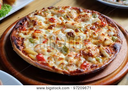 Pizza look tasty